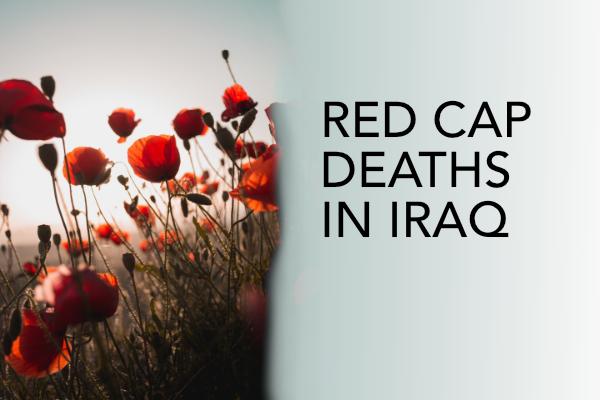 Red cap deaths in Iraq