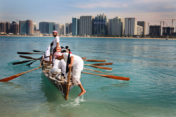 Video: Abu Dhabi boat race